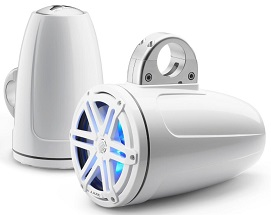 best boat upgrade ideas: wakeboard tower speaker