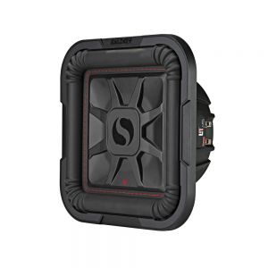 "KA46L7T102 L7T 10"" Thin Profile Square Dual Voice Coil Subwoofer - 2-Ohm Main Image"
