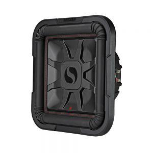 "KA46L7T122 L7T 12"" Thin Profile Square Dual Voice Coil Subwoofer - 2-Ohm Main Image"