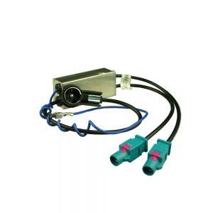 AAN2124 Dual FAKRA with DIVERSITY to female antenna adaptor Main Image