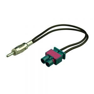 AAN2125 VAG 07>  Dual FAKRA to Male Antenna Adaptor Main Image