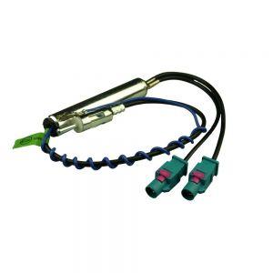 AAN2128 Dual FAKRA to male antenna adaptor Main Image