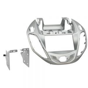 AFC6241 FASCIA Ford B 2012 > Silver Double Din Fascia Main Image