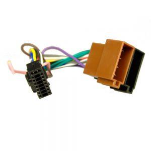AHU3316 JVC 16pin BLACK Head-Unit adaptor lead - 22mm x 10mm Main Image