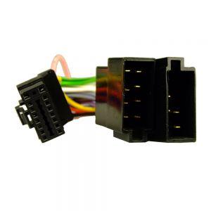 AHU3509 Alpine 16pin BLACK Head-Unit adaptor lead - 21mm x 11mm Main Image
