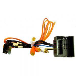 AIS2265 ISO Audi Active 4 Channel Quadlock to RCA  06 > Main Image