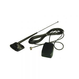 Digital Radio (DAB) Antenna - Glass Mount External Whip
