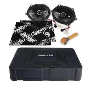 CSU-FO-05-02-PF-B Ford Fiesta Mk5 Speaker Upgrade Kit - PERFORMANCE with BASS Main Image