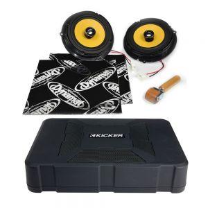 CSU-FO-05-06-PM-B Ford Fiesta Mk7 Speaker Upgrade Kit - PREMIUM with BASS Main Image
