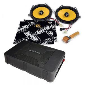 CSU-FO-11-01-PM-B Ford Mondeo Mk2 Speaker Upgrade Kit - PREMIUM with BASS Main Image