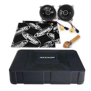 CSU-PE-02-01-PF-B Peugeot 106 Speaker Upgrade Kit - PERFORMANCE with BASS Main Image
