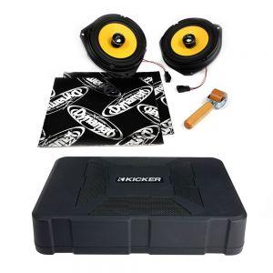 CSU-VX-09-05-PM-B Vauxhall Corsa D Speaker Upgrade Kit - PREMIUM with BASS Main Image
