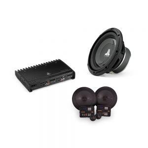 """JL Audio Amplified Speaker & 8"""" Subwoofer Bundle"""