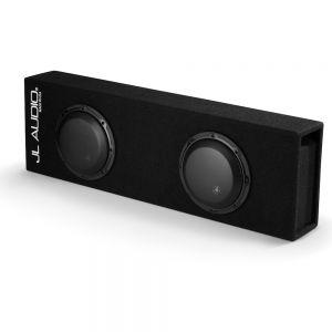 JLCP208LG-W3V3 MicroSub Ported Enclosure with Dual 8W3v3-4 Drivers Main Image