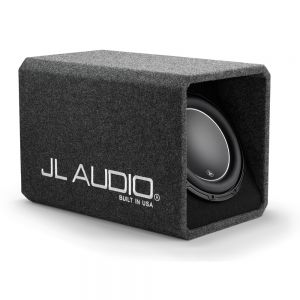 JLHO112-W6V3 HO Wedge Ported Enclosure with Single 12W6v3-D4 Driver Main Image