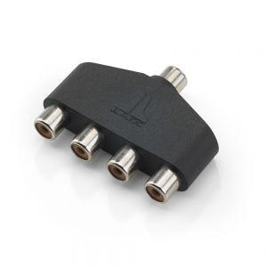 JLM-XD-AICS-1F4F JL Audio 4 Way Audio Interconnect Splitter Main Image