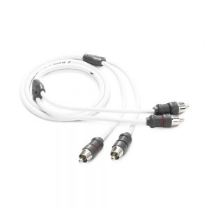 JLM-XMD-WHTAIC2-3 JL Audio 2 Channel Interconnect Cable - 3 ft Main Image