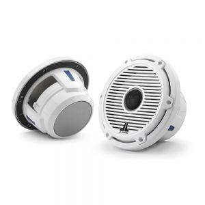 "JLM6-770X-C-GWGW Marine M6 7.7"" (224 mm) Coaxial Speaker System w/ Gloss White Classic Grills Main Image"