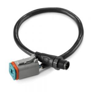 JLMMC-DN2K-1 MediaMaster Deutsch to NMEA 2000 5-Pin Micro Connector Adaptor Cable - 1 ft Main Image