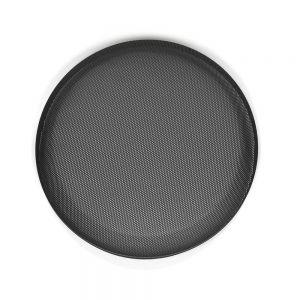 "JLSGRU-10 10"" Steel Grille Mesh Insert - Black Main Image"