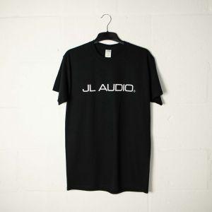JLTEE-B-S JL Audio Black T-shirt with White Logos - Small Main Image