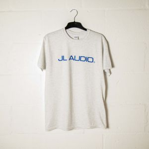 JLTEE-C-XXL JL Audio Grey T-shirt with Blue Logos - XXL Main Image