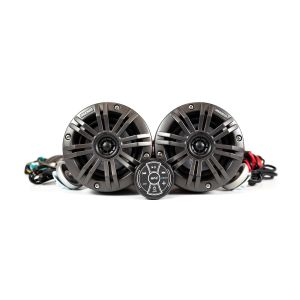 "Jet Ski 4"" (10cm) Audio System - Black Enclosure & Grill"
