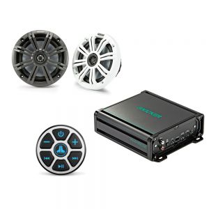 Kicker Audio Bluetooth Receiver 2 Channel Bundle