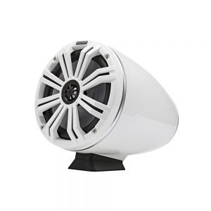 """KA46KMFC8W KM Marine 8"""" (200 mm) Surface Mount Tower Coaxial Speaker System - White Main Image"""