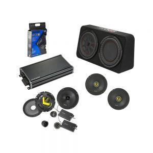 "KICKER Audio Amplified Speaker & 10"" Subwoofer Bundle"