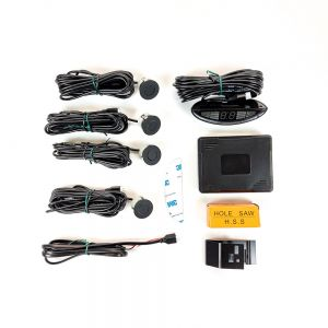PS5703 Parking Sensors Rear 4 Eye With LED Display - Matt Black Main Image