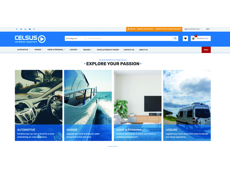 Celsus UK launch redesigned feature-packed website